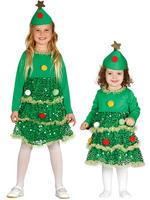 Girl's / Baby Christmas Tree Costume