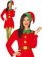 Ladies Workshop Elf Costume