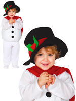 Baby Toddler Snowman Costume