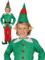 Boy's Christmas Elf Costume