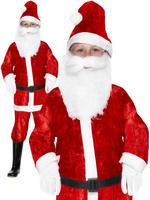 Boy's Mini Santa Costume