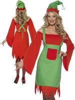 Ladies Cute Elf Costume