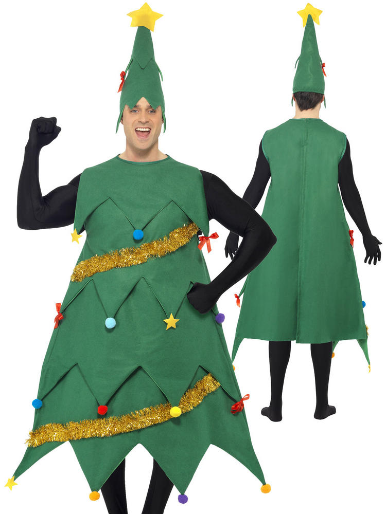 Adult's Deluxe Christmas Tree Costume