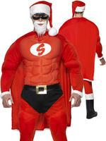 Men's Super Fit Santa Costume