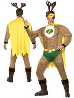 Men's Super Reindeer Costume