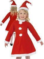 Girl's Value Santa Costume