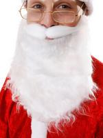 White Santa Beard