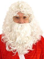 Santa Wig, Beard & Eyebrows