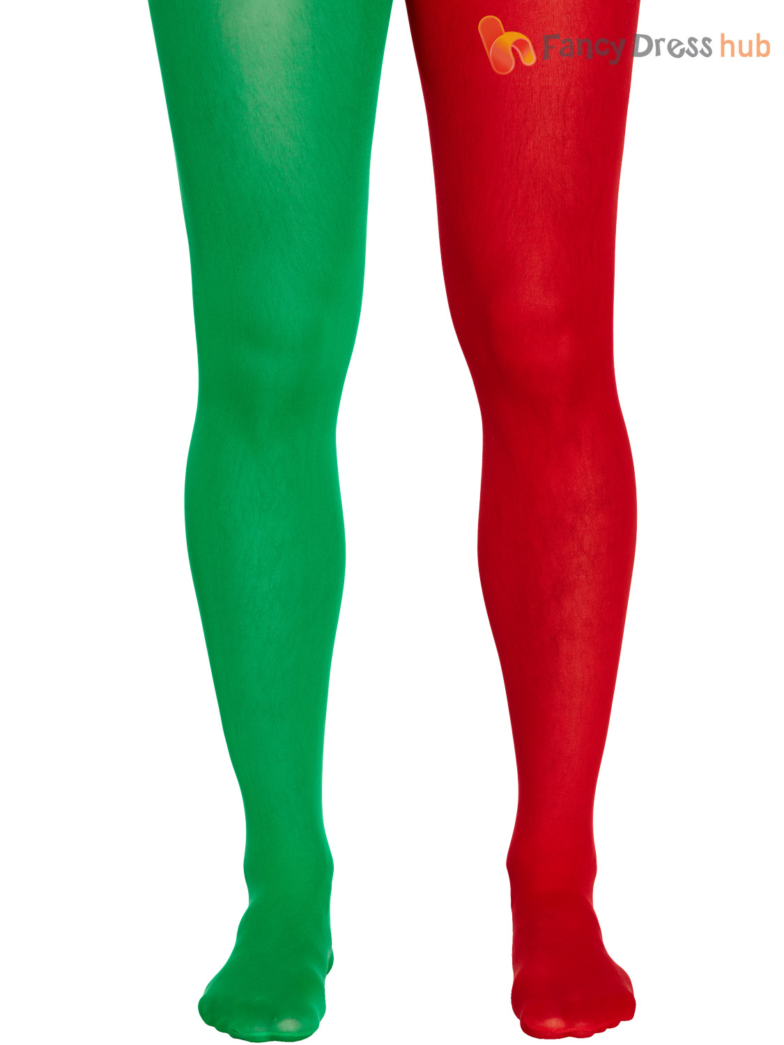 mens christmas tights adults elf fancy dress accessory