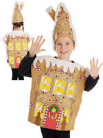 Child's Gingerbread House Costume