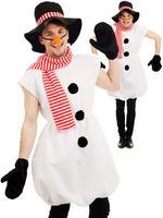 Men's Snowman Costume