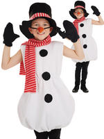 Child's Snowman Costume