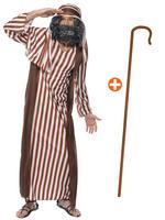 Men's Shepherd Costume & Crook
