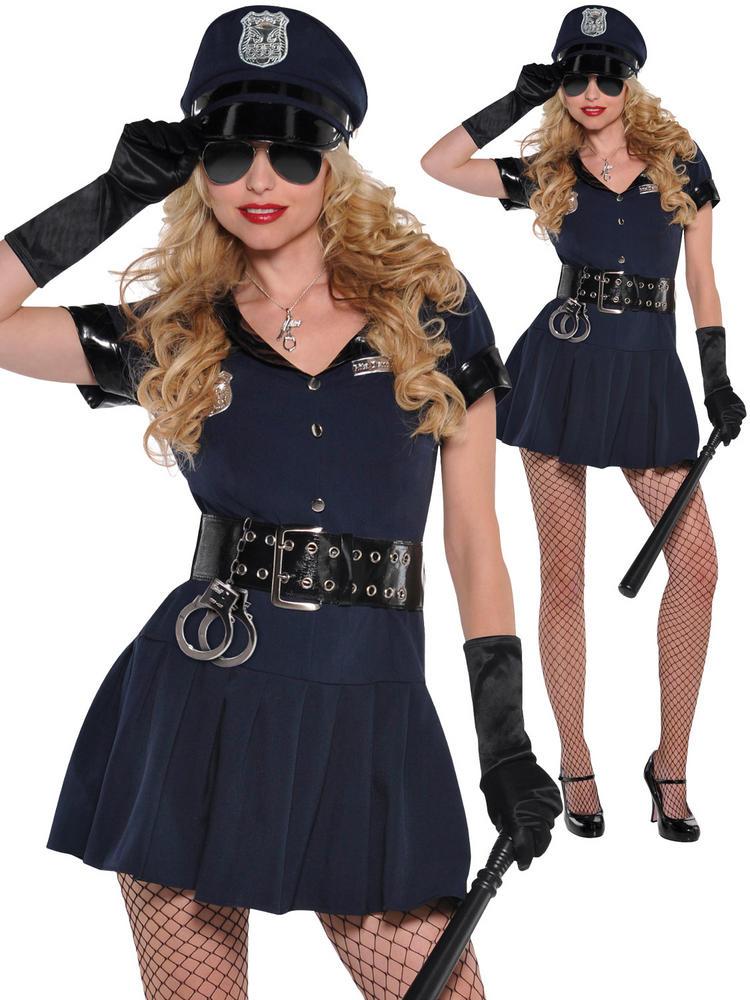 Ladies Officer Rita Dem Rights Police Costume