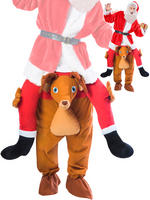 Adult's Ride a Reindeer Costume
