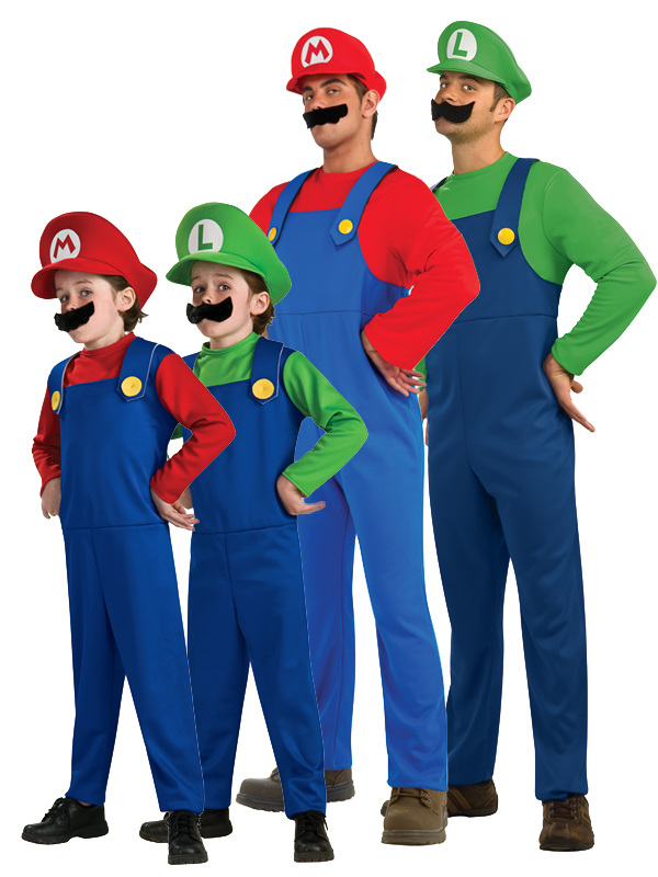 -KIDS-SUPER-MARIO-LUIGI- Mario And Luigi Costumes For Kids  sc 1 st  Homes on the net & Mario And Luigi Costumes For Kids - More information
