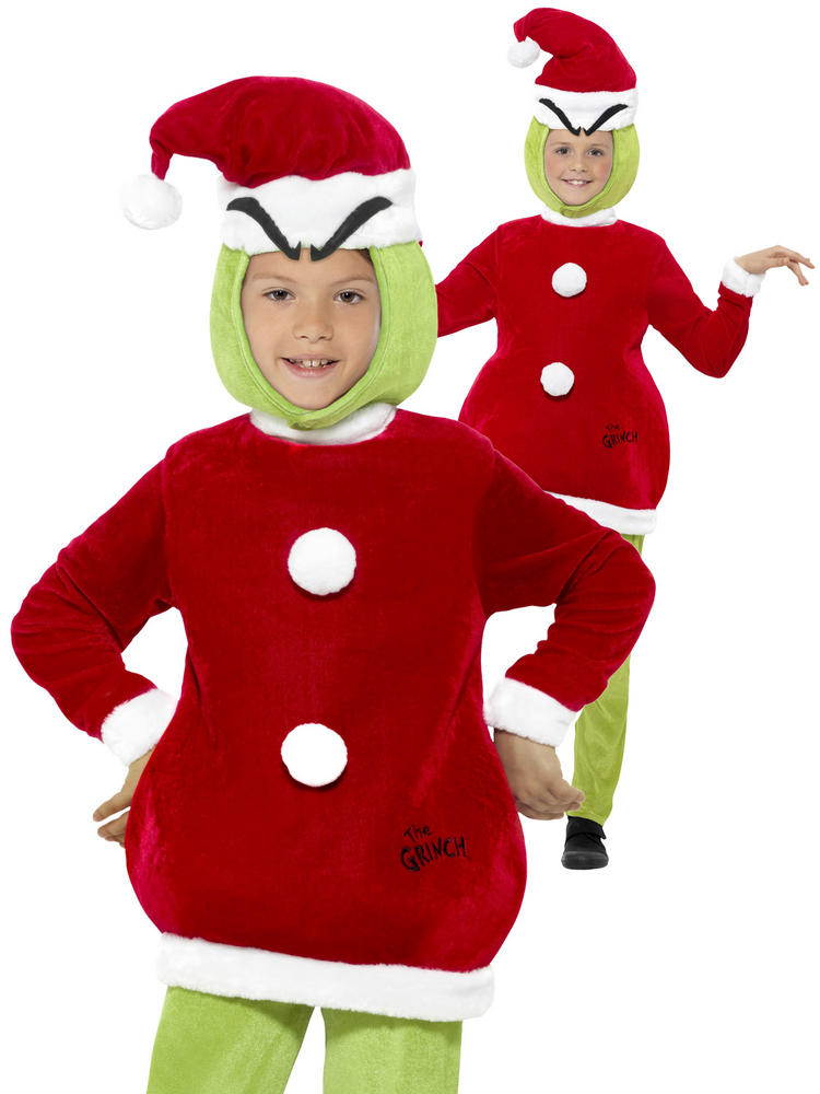 childs the grinch costume all children fancy dress hub