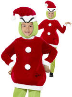 Child's The Grinch Costume