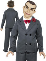 Boy's Goosebumps Slappy The Dummy Costume