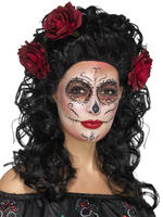 Ladies Day of the Dead Long Wig