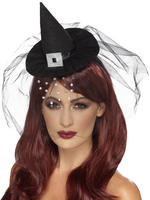 Mini Witch Hat Headband
