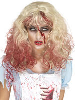 Ladies Zombie Alice in Wonderland Wig