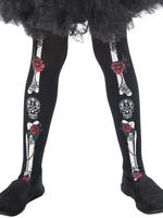 Girl's Day of the Dead Tights