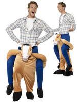 Adults Horse Piggyback Costume