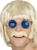 Men's Blonde Hippy Disguise Set