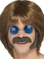 Men's Brown Hippy Disguise Set