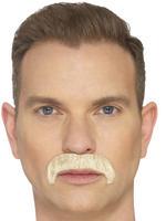 Blonde The Horseshoe Moustache