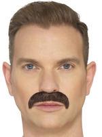 Brown The Horseshoe Moustache