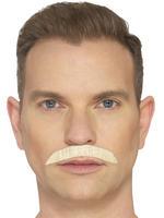 Blonde Iconic Rock Star Moustache