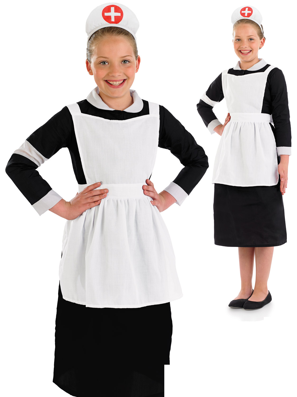 Girl's Hospital Nurse Costume