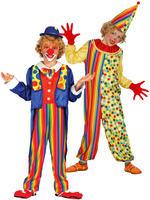 Boy's Clown Costume