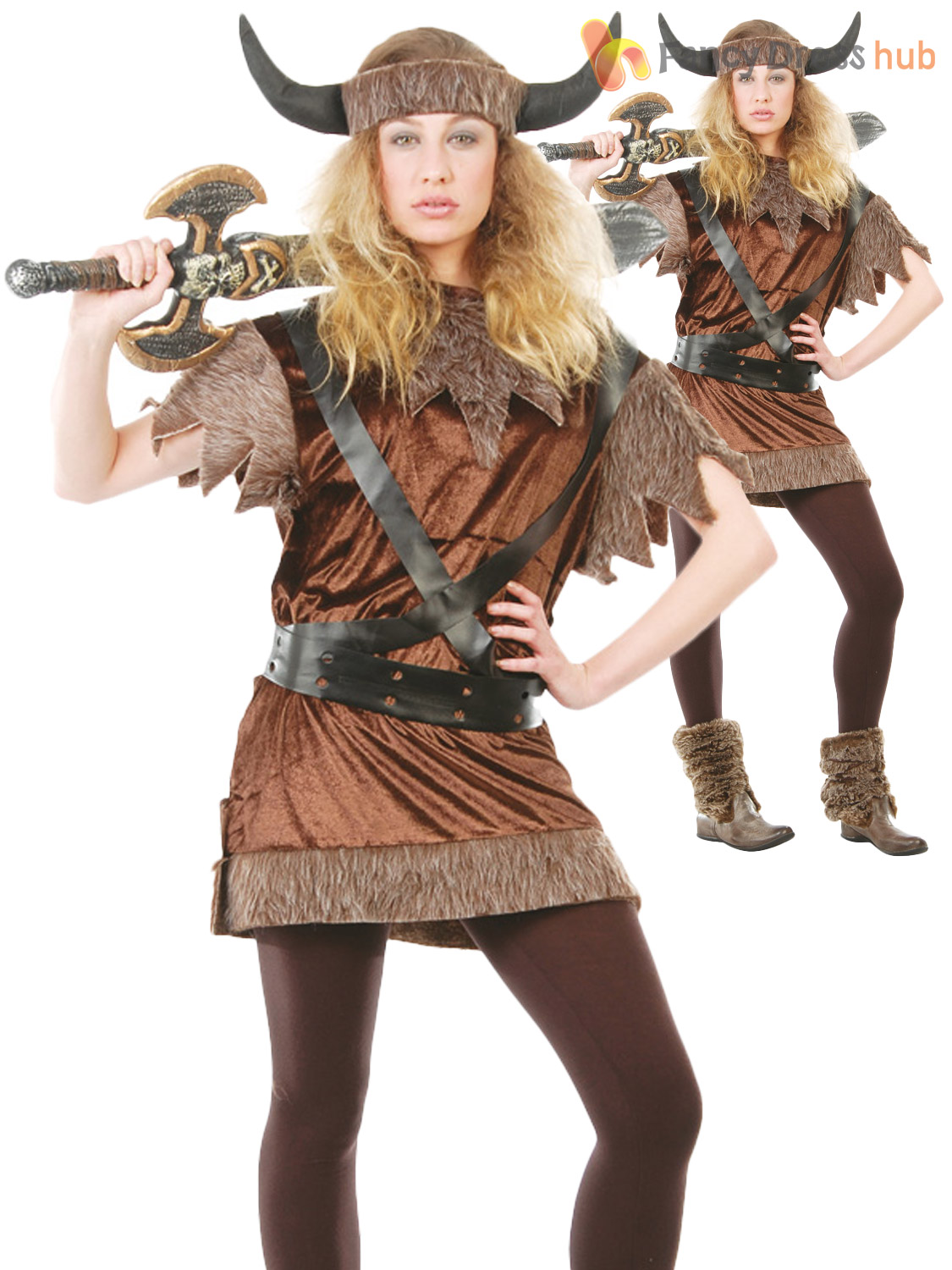 Perfect Girls Viking Fancy Dress Costume G51284 Girls Viking Fancy Dress