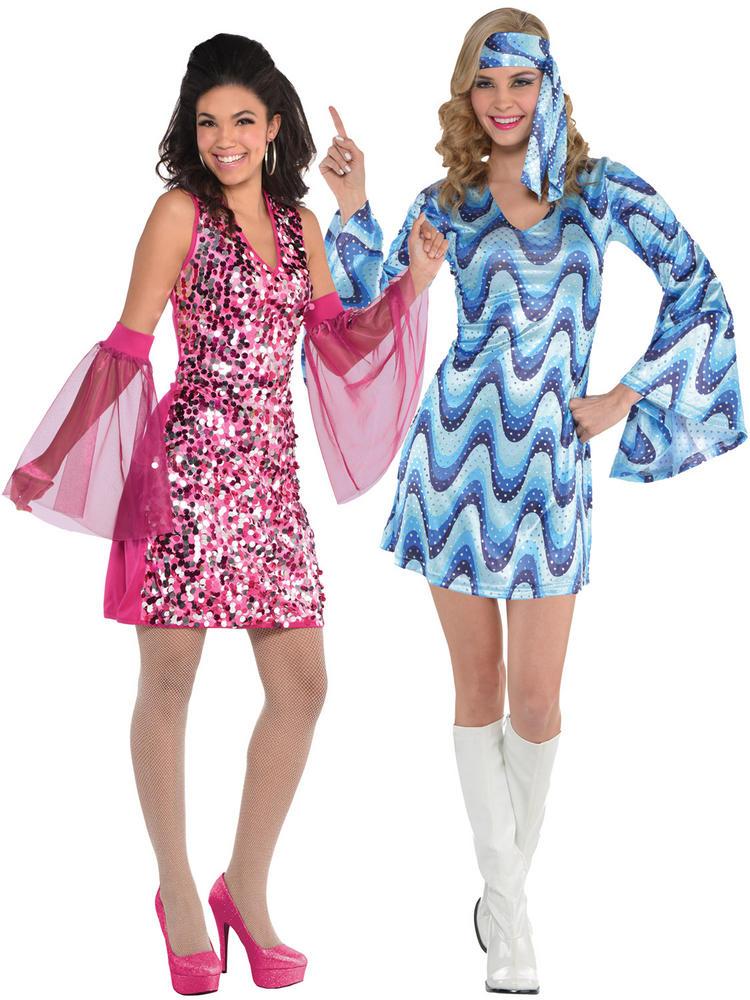 Ladies Disco Lady Costume