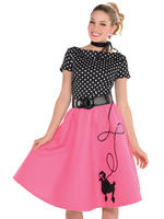 Ladies 50S Flair Costume