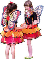 Girl's Red Admiral Fairy Set