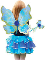 Girl's Turquoise Sparkle Fairy Set
