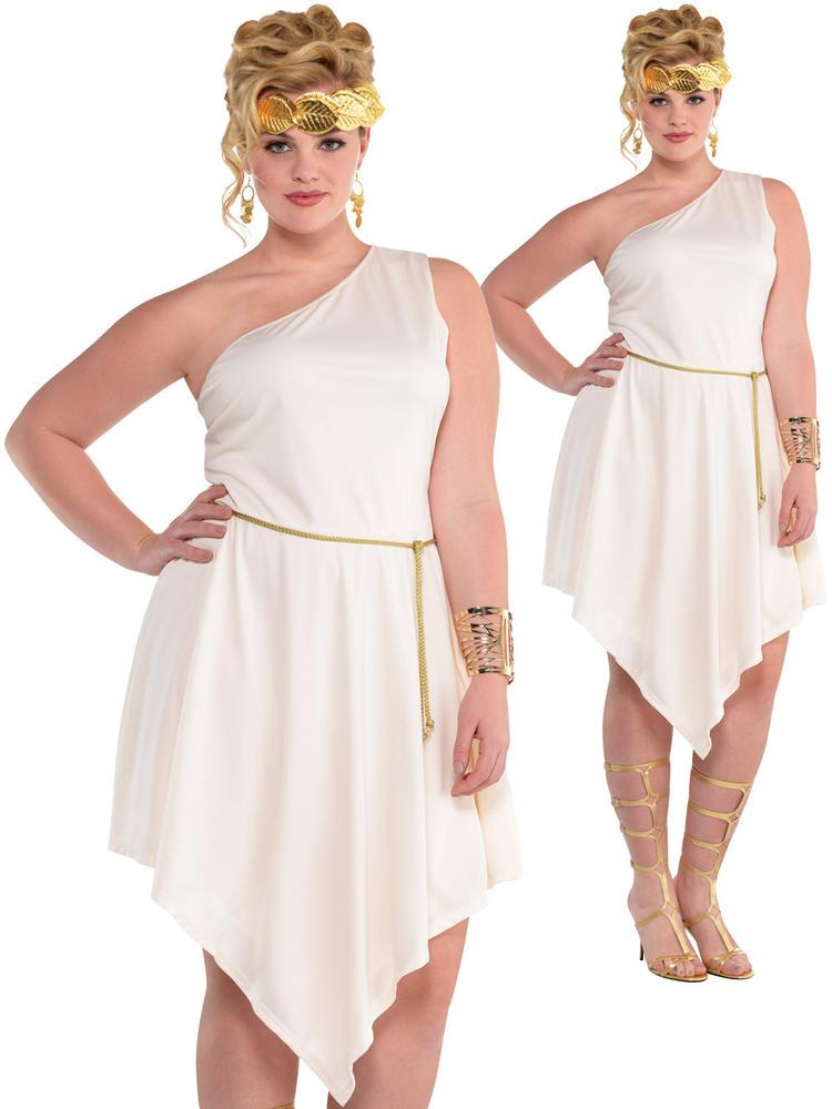 Ladies Plus Size Goddess Dress