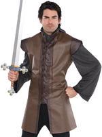 Mens Brown Warrior Tunic