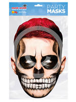 Red Hair Day of the Dead Mask