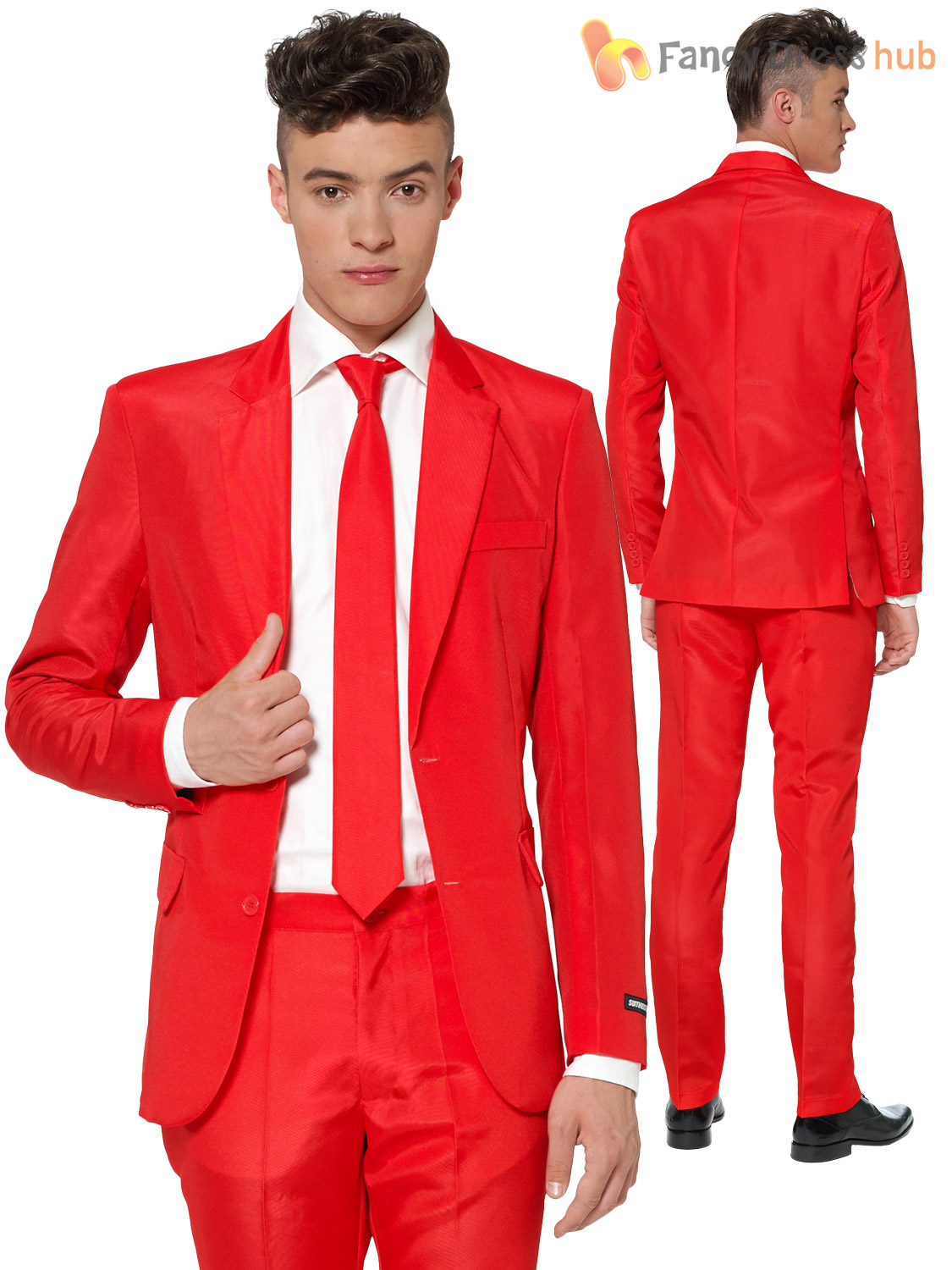 For a stand-out kind of guy, a sharp novelty suit is the perfect fit—but these suits are anything but a joke. They are undeniably outrageous, but also decidedly well-made, just like a traditional suit. Each suit is three pieces—a slim-fitting and lined jacket, pants, and a matching tie—full of.