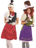 Ladies Miss Rabbit Hatter Costume
