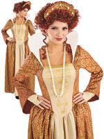 Ladies Tudor Queen Costume