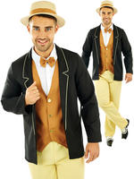 Men's 20s Gentleman Costume