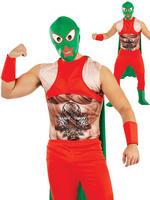 Men's Mexican Wrestler Costume