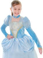 Girl's Blue Princess Costume