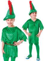 Boy's Deluxe Peter Pan Costume